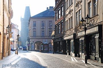 Вид на на бывший монетный двор на Целетной улице. Фото Индржих Чех