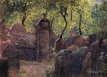 Вацлав Янса. Старое еврейское кладбище