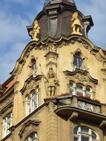 Прага широкая улица фото галины
